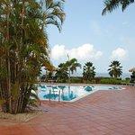 piscina privada para la casa residencial