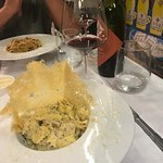Truffel ravioli