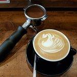 Beautiful latte art