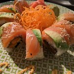 Salmon roll is so good!!!