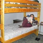 Bunk beds with good mattresses!