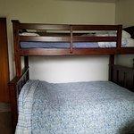 Room C twin over full bunk