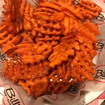 Sweet Potato Lattice Fries