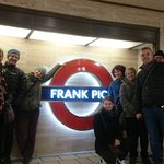 Paying hommage to Frank Pick on our London underground/Tube Tour