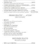 Our menu 2018