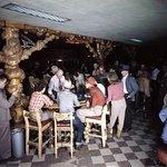 Historic Photo- Gambling in the Cowboy Bar