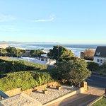 View from bar / balcony towards Grotto Beach