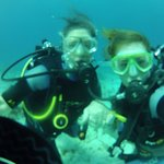 Thrilled to dive with my daughter !!