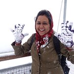 snowy me..:-)