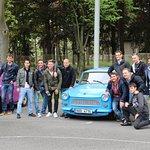 Happy clients during Trabant Tour