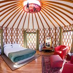 Carmanah Yurt Interior