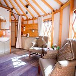 Cheewhat Yurt interior