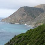 Bixby Bridge was parking area down the road on PCH Highway 1