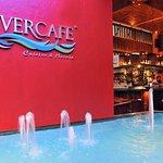 River Cafe Puerto Vallarta entrance at night