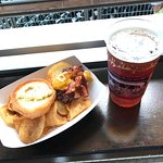 Delicious sliders and Beer at Target Field