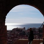 Our guide Marko proudly looking at his home town. All our guides are locals, born and raised!