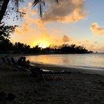 Sunset at Half Moon Beach