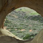 Gaviota Wind Caves... view from the upper caves looking down