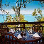 Enjoy ocean, mountain & forest views from every table.