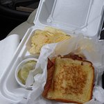 BLT with Cheese and Chips