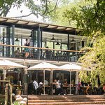 Zambezi House terrace