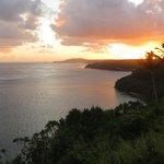 View toward lighthouse