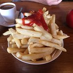 This is what you get when you order a bowl of chips - chips mikado :)