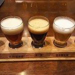 ビールのみくらべ