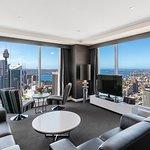 Three Bedroom Ocean Suite - Living Area