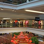 Interior of the shopping mall