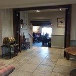 Foyer, leading to main bar