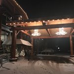 The Lodge after a beautiful snow!