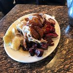 Mixed meats - chicken, pork & duck.