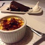 The desserts are succulent !