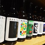 Large selection of craft beer