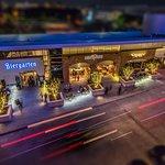 Four restaurants across the drive on the Omni Dallas complex