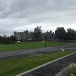 Approach to Ashford Castle