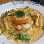 Saute Irish Squid w/Chorizo