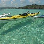 Les fonds blancs en kayak...naviguer dans une eau cristalline