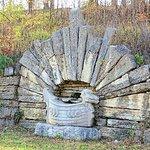christensen wall fountain along loop road