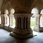 Abbaye de Fontenay en hiver