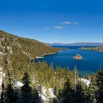 Emerald Bay Panorama in February