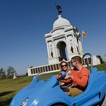 Tour the battlefield in a Scoot Coupe!