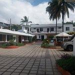 Vista desde la entrada al Hotel