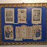 Ancient 19th Century Religious Paper Lace Prayer Cards from France