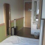 Zimmer mit Eingangstür