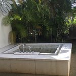 This is the outside bath