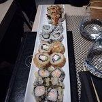 Sushi caldo