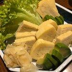 Tamago sashimi galore