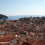 Just a bus ride away & walk round the walls of Dubrovnik without having to stay in the hustle